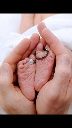 Cute newborn photo.