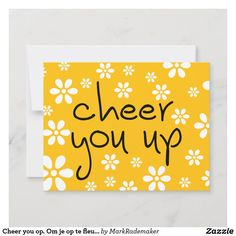 Birthday Card Template, Birthday Cards, Card Tattoo, Good Luck To You, Cheer You Up, Custom Greeting Cards, Zazzle Invitations, Artwork Design, Thoughtful Gifts