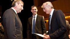 Michael Spindelegger mit dem alten und neuen Vorarlberger ÖVP-Chef
