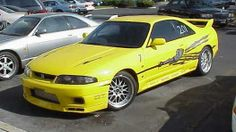 1995 Nissan Skyline GT-R [R33] from the fast and the furious