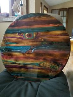 Funky Painted Furniture, Refurbished Furniture, Paint Furniture, Repurposed Furniture, Furniture Projects, Furniture Makeover, Cool Furniture, Wood Projects, Unicorn Spit Stain