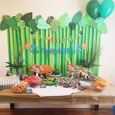 stripestosparkleSo many amazing fun this weekend! This themed… stripestosparkleSo many amazing fun this weekend! This themed party threw using some banners from me! I love to see your in use pictures it makes me so happy to see you enjoying my work! Third Birthday, 3rd Birthday Parties, Birthday Fun, Birthday Party Decorations, Dinosaur Party Decorations, Birthday Ideas, Dinosaur Birthday Party, Elmo Party, Mickey Party