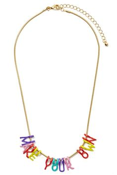 Spell It Out Necklace | Shop What's New at Nasty Gal