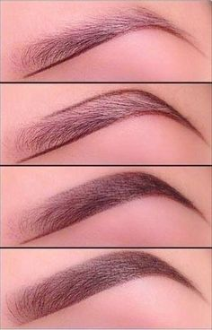 Как красить брови | Как правильно красить брови