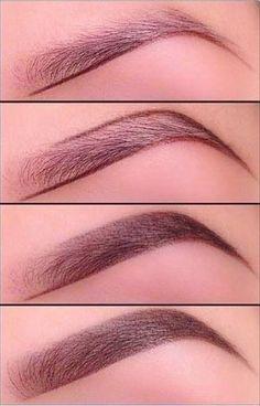 Как красить брови   Как правильно красить брови