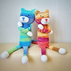 Crochet Ami Cat pattern