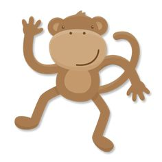 monkey free svg file for cutting on cricut