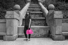 the EPSYLON shopping bag - awesome in pink! and it comes in various colors! check it out on the website