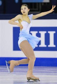 16歳の永井優香が女子SP3位/フィギュア(2)