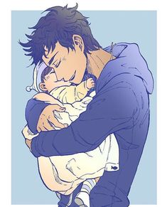 Percy and his sister I MIGHT DIE THIS IS SO CUTE • Art~ mormoc.tumblr.com • #percyjackson #annabethchase #hazellevesque #frankzhang…