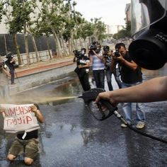 """""""Chemical Tayyip"""" (kimyasal tayyip) - Incredible And Frightening Photos From Istanbuls #OccupyGezi"""