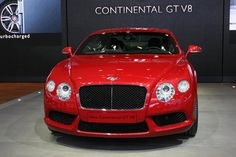 Bentley Continental - via Auto Guide (Detroit 2012) - pin by Alpine Concours