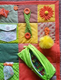 Blanket Blessings by Sandy are Fidget Quilts and Sensory Blankets that provide tactile feedback and comfort to fidgety hands, for loved ones with Alzheimers, Dementia, Brain Injury, Stroke, Hospital and Nursing Home patients or children with special needs. Each quilt is an