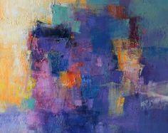 May 2012 1 Original Abstract Oil Painting by hiroshimatsumoto
