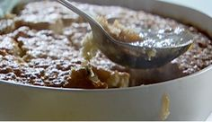 Bill Granger's Banana & Butterscotch pudding. This pudding is so easy to make and a delicious hot dessert for cold winter nights!