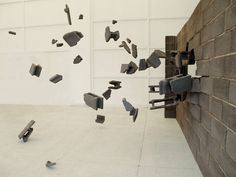 LOS CARPINTEROS http://www.widewalls.ch/artist/los-carpinteros/ #installation #painting #sculpture