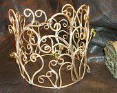 Handmade Elinor Brave Crown. $295.00, via Etsy.