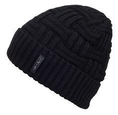 aaed871d789 Spikerking Mens Winter Knitting Wool Warm Hat Daily Slouchy Beanie Skull Cap