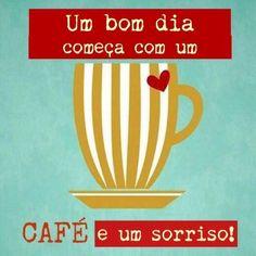Um café e um sorriso