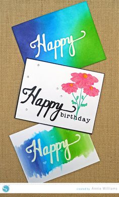 Custom Handwriting Stamps Tutorial by Annie Williams on the Silhouette Blog