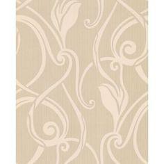 Graham /& Brown 31-579 Hermitage Bella Wallpaper Cream//Brown