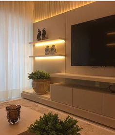 Best 20 TV Room Ideas for Your Home and Remodel « inspiredesign Tv Unit Decor, Tv Wall Decor, Tv Unit Furniture, Home Decor Furniture, Modern Tv Wall Units, Living Room Tv Unit Designs, Muebles Living, Tv Wall Design, Retro Home Decor