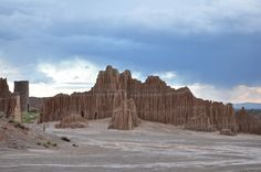 JD's Scenic Southwestern Travel Destination Blog: Cathedral Gorge State Park, Nevada!