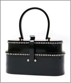 lucite purse 1950s