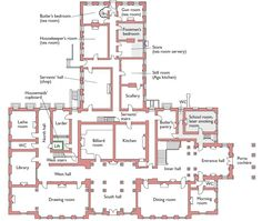 288 Brodsworth Hall, Brodsworth, Doncaster, South Yorkshire, Ground Floor Plan
