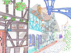 Comité des jumelages Angoulême Images, Cartes postales