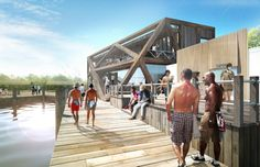HWKN commissioned to rebuild Fire Island Pines Pavilion