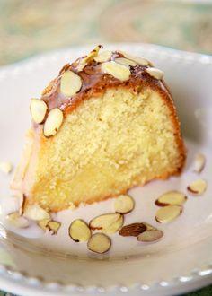 Amaretto Pound Cake {KitchenAid Mixer Giveaway} | Plain Chicken