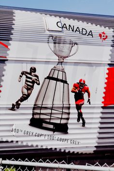 Grey Cup 100th Anniversary on the Grey Cup Train   by Ron Palmer, via 500px