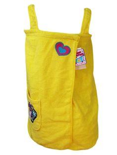 St Eve Girls Swim Beach Cover 10/12 Terrycloth Wrap Dress Robe Sandals Beach NEW #StEve #CoverUp