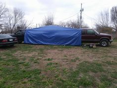 Redneck Campin' Tent Outside