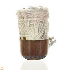 Apaka Custom Hand Carved Ray E-Pipe Mod