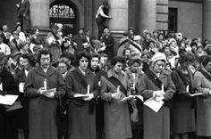 """The Black Sash was formed in 1955 in South Africa. """"It came to be called the Black Sash because the women wore black sashes over one shoulder as they stood to demonstrate against discriminatory legislation. It was initially formed to protest against the Separate Representation of Voters Bill, a ploy by the government to remove Coloureds from the common voters' roll. The women saw this as a flagrant attack on the spirit of the constitution."""""""