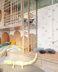 Hotels For Kids, Kids Room Design, Kid Spaces, Room Interior, Interior Design, Kids Bedroom, House Design, Decoration, Playrooms