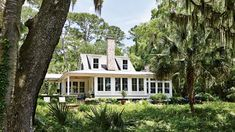 Lowcountry River House | From no-frills, full-of-heart bungalows to elegant seaside retreats, these coastal homes boast nonstop inspiration.