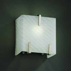 1STOPlighting.com   Justice Design - FSN-8871 - Fusion - One Light Small Clips Wall Sconce