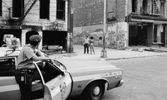 Urban decay in New York 1978, when crime and a crack epidemic were sweeping the city. Although a large shift in population is the main cause for urban decay, there is other contributing factors such as the widespread use of street drugs in inner cities. This image can be found at www.guardian.co.uk