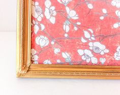 Vintage Gold Picture Frame 5x7 Metal Frame Copper by RetroTiles