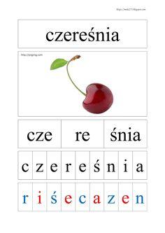 BLOG EDUKACYJNY DLA DZIECI Learn Polish, Kids English, Montessori, Letters, Html, Education, Learning, Children, School