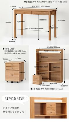 Gambaru Kaguya Tansu no Gen: Closed when not in use, the compact domestic learning desk compact folding bookcase simple computer desk folding desk flat slim desk learning learning desk study desk desk kids girls boys made in Japan completed Diy Furniture Building, Diy Home Furniture, Dresser Furniture, Recycled Furniture, Refurbished Furniture, Furniture Styles, Plywood Furniture, Pallet Furniture, Furniture Projects