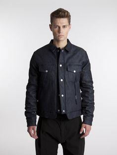 DAMIR DOMA SILENT , Junis Denim Ceket #shopigo#shopigono17#menswear#ss15#readytowear