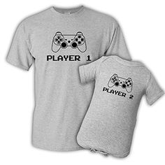 Player 1 Player 2, Father Son T-Shirt Set, Black, Adult S... https://www.amazon.com/dp/B06XX5RYYT/ref=cm_sw_r_pi_dp_x_E1L3ybPB481DC
