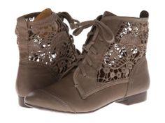 Latigo Lace Panel Boots