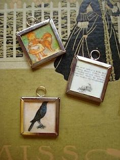 mod podge & book pages