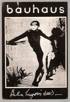 Bauhaus - Bela Lugosi's Dead poster