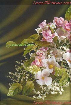 Double-petal jasmine flower tutorial gumpaste flower tutorial